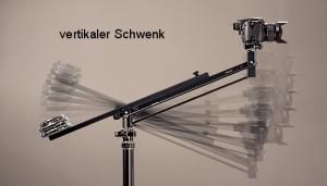 vertikaler Schwenk