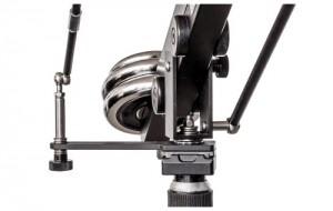 Kamerakran mit 14 Gleitlagern und Axiallagern
